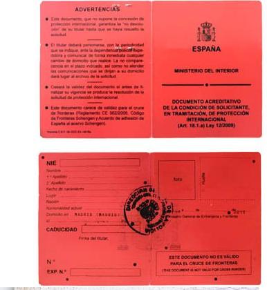 residencia temporal por protección internacional Vivir en España